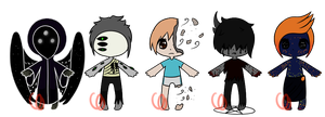 Cryptid adopts (CLOSED) by Emptyproxy