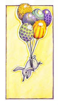 Airborne Bunny by PatentRose