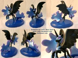 Nightmare Moon by aachi-chan