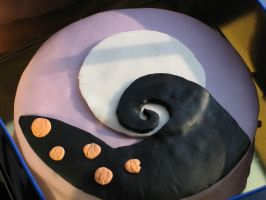 nightmare before Xmas cake by Ritzylicious