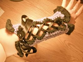Corset Armwarmers by SinePerrell
