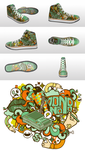 Country Club Nouveau Sneaks by j3concepts