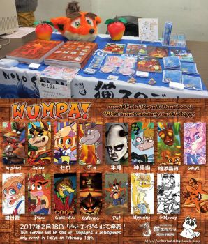 Crash Bandicoot 20th anniversary anthology by SuperMisurino