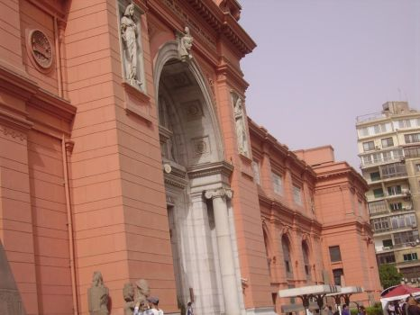 the Gate of Egyptian museum by fbi99