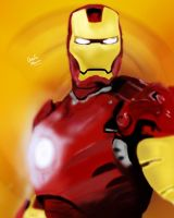 Iron Man by King-Arsalan-Monawar