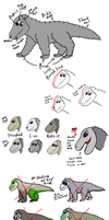 Quick how to degin Ascalabotes pups by MidnightNightFury