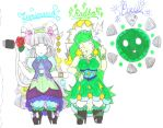 TAZ - Lumimaria, Radha, and Pixie by Winter-Colorful
