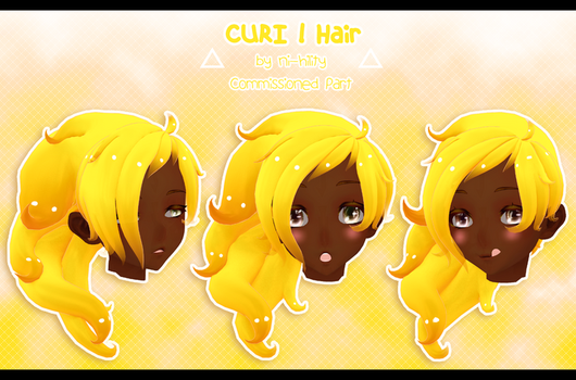 CURI ! Hair [ Commission ] by Avant-Garde3D