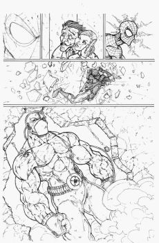 spiderman pg 6 by vicmed