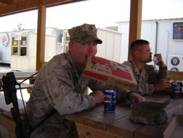 pizza hut in iraq by desert-hedgehog