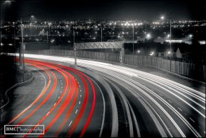 Red and White blood cells, Dublin's M50 by BMC-Photography