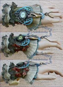 One of a kind cuff I by Pinkabsinthe