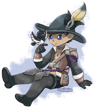 Commission: Lala Bard by Volmise