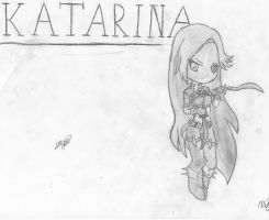 Katarina Chibi - League of Legends by mikhell1