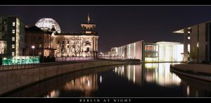 Berlin at night by silver-spurs