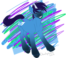 Star Spectrum by Dendropsyche