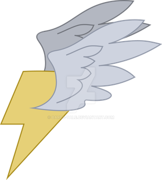 Thunder Struck Cutie Mark by Bards-Tale