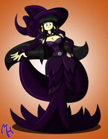 Donna Witch by DracoDragite