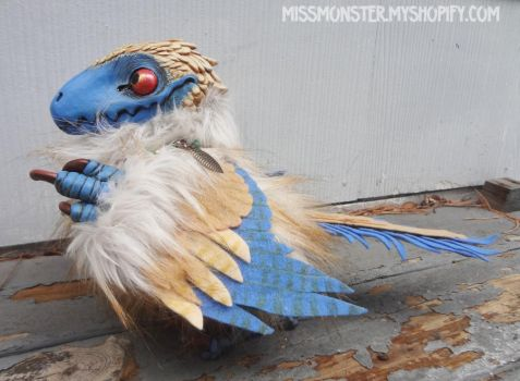 Klaus the Archaeopteryx by missmonster