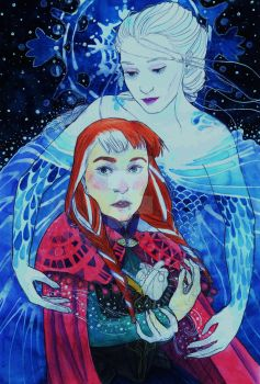 Frozen - A Waltz of Snow and Ice by HitomiTatsuyo