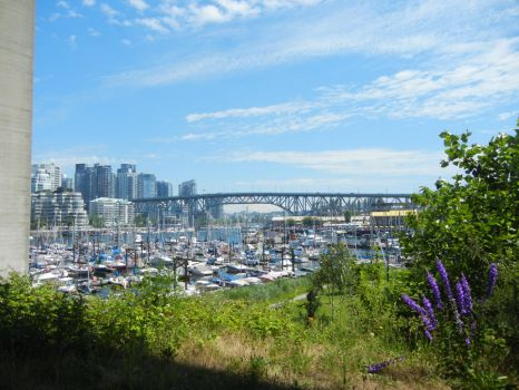 Vancouver Harbour by pandarune