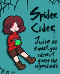 Underfell items - Spider Cider by Kaitogirl