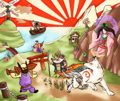 Journey through Nippon by Tbopi