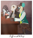 MAY PROMPT - Quality Time by Rainbow-Moose