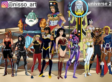 universe 2 all amazons warriors by nissimaharonov