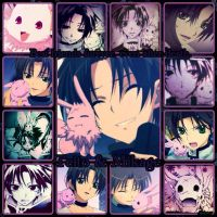 Teito and Mikage....Best Friends by Syleria11