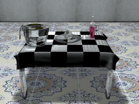 The table by MaXimiliaNMetaL