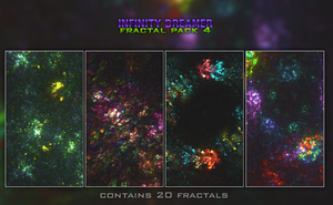 Fractal Pack 4 by infinity-dreamer