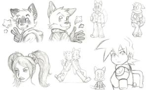 Just some sketches by KoonieDude