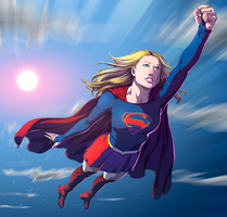 Supergirl by fradarlin