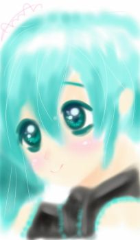 sketchbook hatsune miku ^^ by AmalHasan