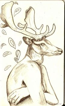 Deer It's Cold by CalcifiedCrow