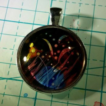 Ink Pendant 2 by moonphases