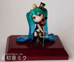 Miku the Magician by dianahase