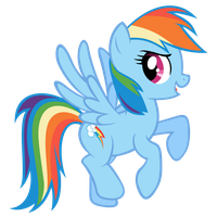 Rainbow Dash in the Guide by SirLeandrea