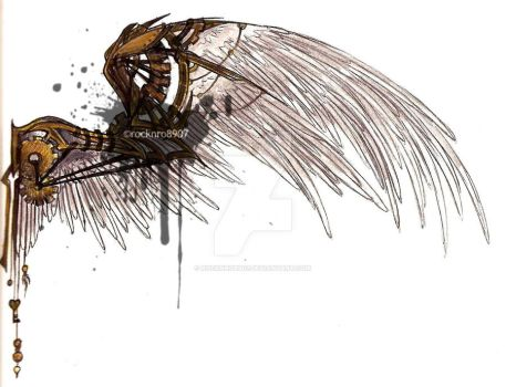 Steampunk Wings by rocknro8907