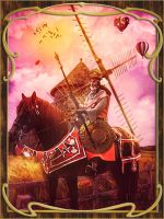 Don Quijote by Renata-s-art