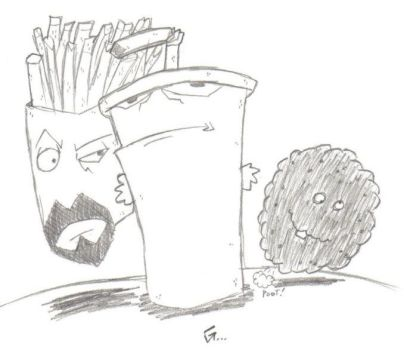 Aqua Teen Hunger Force Coloring Pages