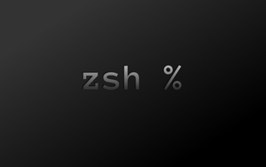 Zsh Wallpaper by PainlessRob