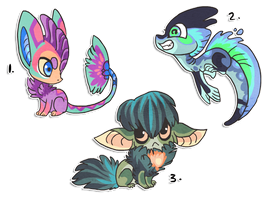 3 designs up for point bid by griffsnuff