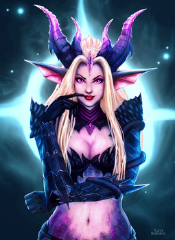 dragon sorceress zyra by Yumi-Banana