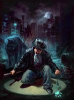 Harry Dresden by thegryph