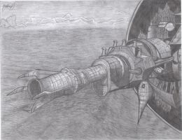 SSBB- Subspace Gunship by Jazzy-Book