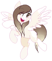 possible new ponysona concept?? by Angelic-Shield