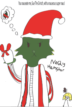 Sue The Grinch by Nerdy-Hamster