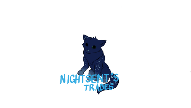 Nightsent's trades! by WingsOfTheMusicWolf